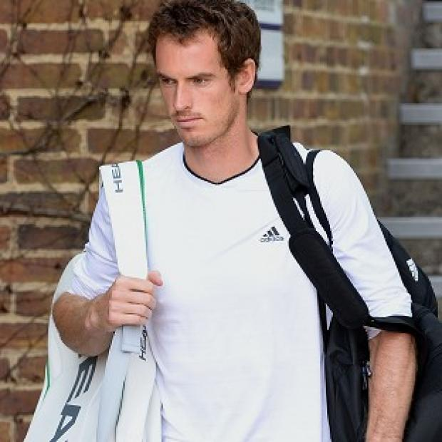 Blackpool Citizen: Andy Murray, pictured, is scheduled to play the second singles match against Andreas Seppi