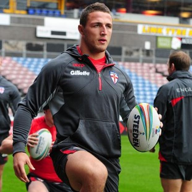 Blackpool Citizen: Sam Burgess was hit over the head with a stick