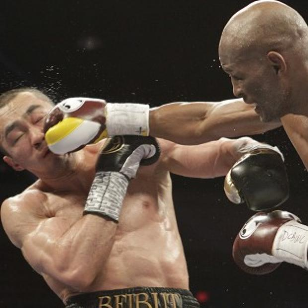 Blackpool Citizen: Bernard Hopkins, right, has become the oldest boxer to unify a weight division (AP)