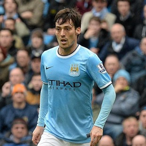 Blackpool Citizen: David Silva has an ankle injury