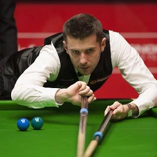 Blackpool Citizen: Mark Selby, pictured, clung on to beat Michael White