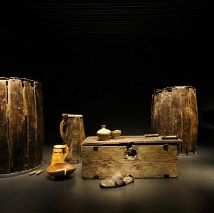 Blackpool Citizen: Artifacts brought from the sea bed of The Solent and preserved on display at the new Mary Rose Museum