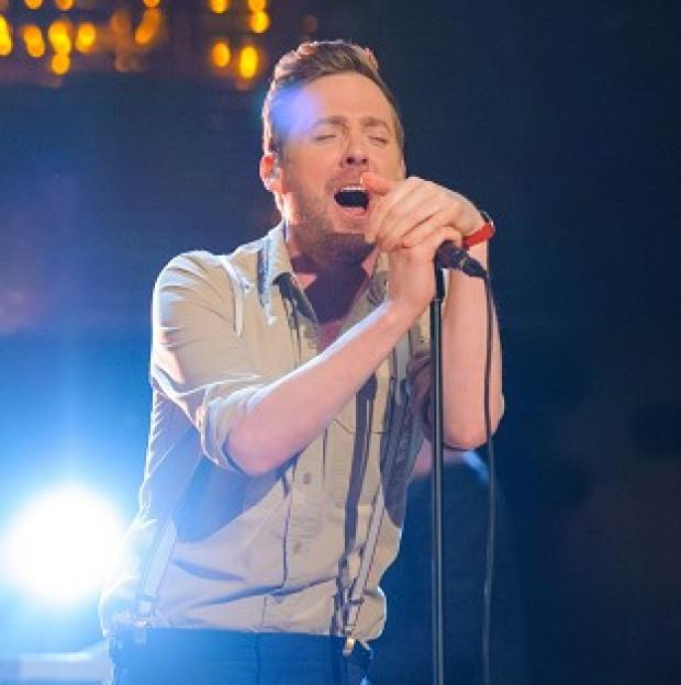 Blackpool Citizen: Ricky Wilson is waiting to hear about his future on The Voice