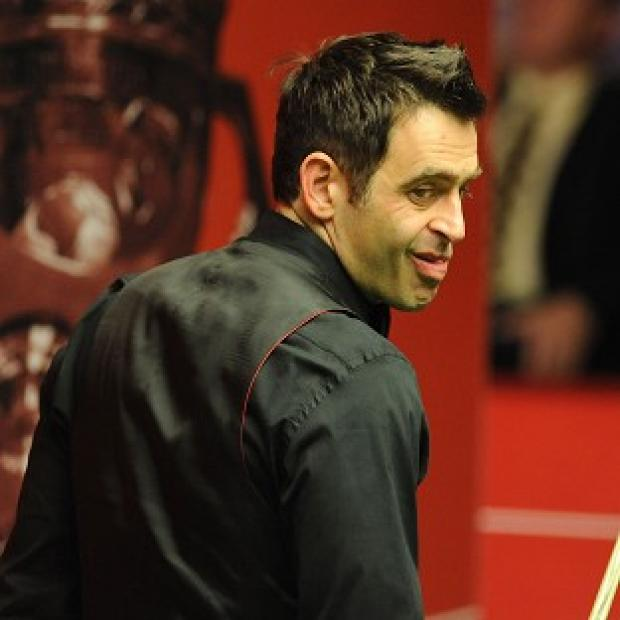 Blackpool Citizen: Ronnie O'Sullivan is two frames behind