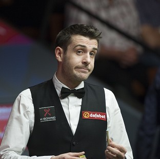 Mark Selby is on the verge of victory