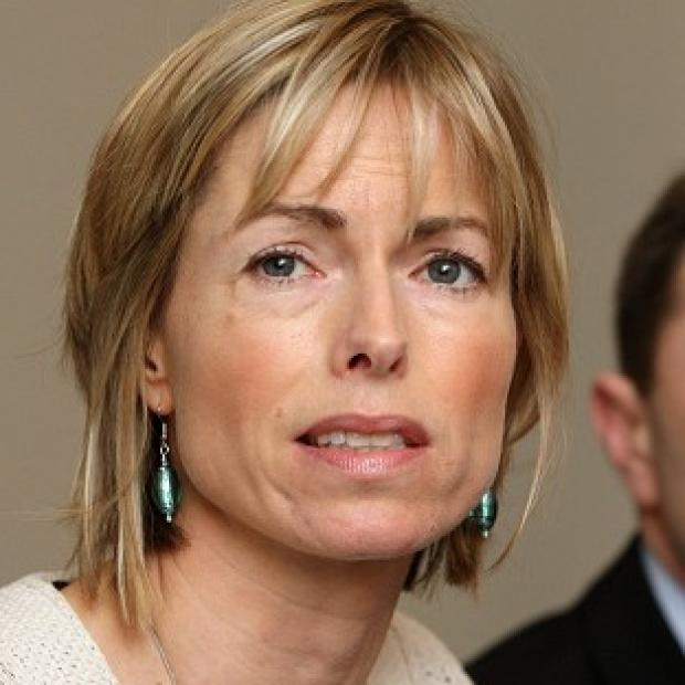 Blackpool Citizen: Kate McCann, pictured with husband Gerry, has urged people to sign up to Child Rescue Alerts