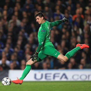 Thibaut Courtois impressed against his parent club