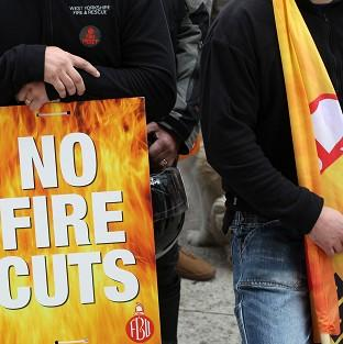 Blackpool Citizen: Firefighters are staging more industrial action in a dispute with the Government over pension changes