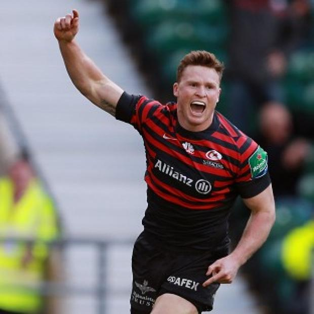 Blackpool Citizen: Saracens boss Mark McCall has backed wing Chris Ashton, pictured, for an England recall