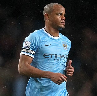 Vincent Kompany is expected to lift the Premier League trophy for the second time on Sunday