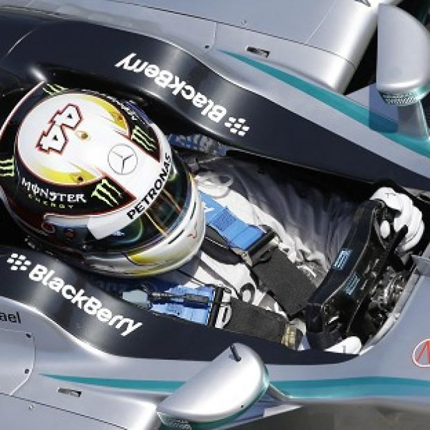 Blackpool Citizen: Lewis Hamilton seems the man to beat in Barcelona (AP)
