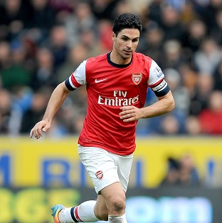 Arsenal's Mikel Arteta, pictured, is unhappy with Jose Mourinho's comments