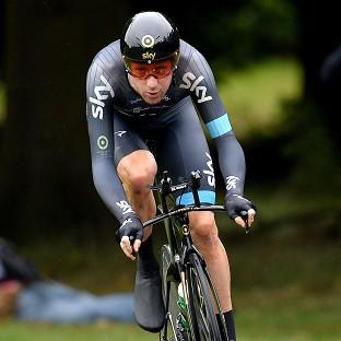Sir Bradley Wiggins remains in pole position to win the Tour of California title