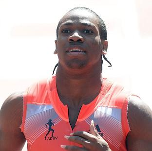 Blackpool Citizen: Jamaica's Yohan Blake won the 150m at the BT Great CityGames