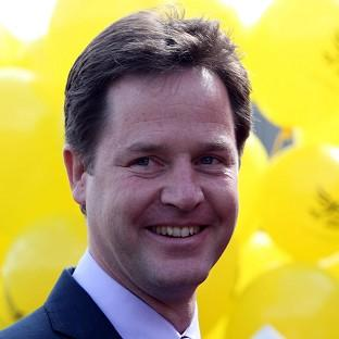 Nick Clegg accused Nigel Farage of promoting the 'politics of division'