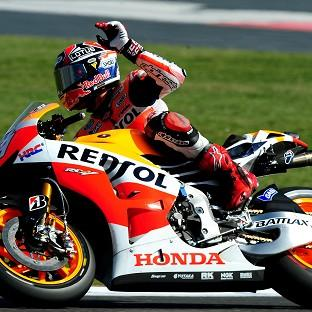 Marc Marquez raced up from 10th place to win the France MotoGP