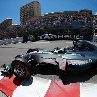 Nico Rosberg took the chequered flag ahead of Lewis Hamilton