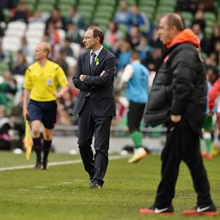 Martin O'Neill watched his side slip to defeat