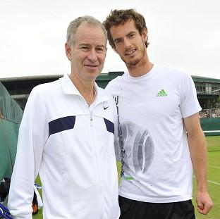 Blackpool Citizen: Darren Cahill believes John McEnroe, left, would be a good fit as Andy Murray's new coach