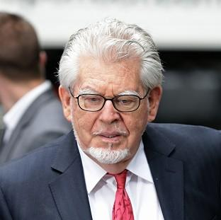 Veteran entertainer Rolf Harris arriving at Southwark Crown Court