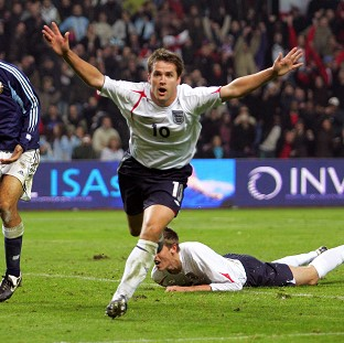 Michael Owen represented England at three World Cups