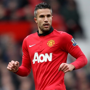 Robin van Persie, pictured, has extended his condolences to the family of Malcolm Glazer