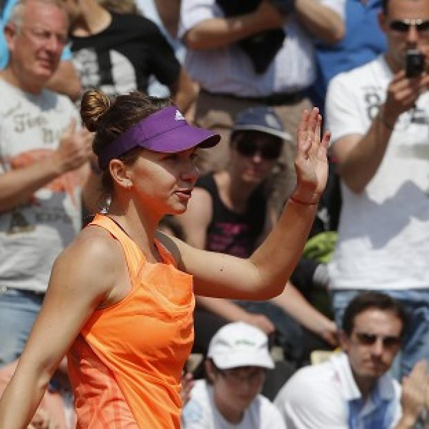 Blackpool Citizen: Simona Halep has not yet dropped a set on her way to the fourth round of the French Open (AP)