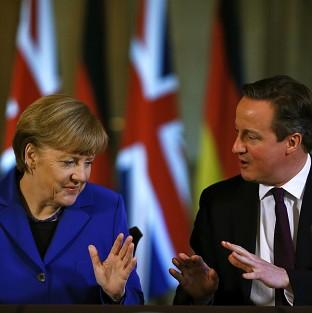 Blackpool Citizen: David Cameron issued his warning to Angela Merkel at the EL leaders summit in Brussels, it was reported