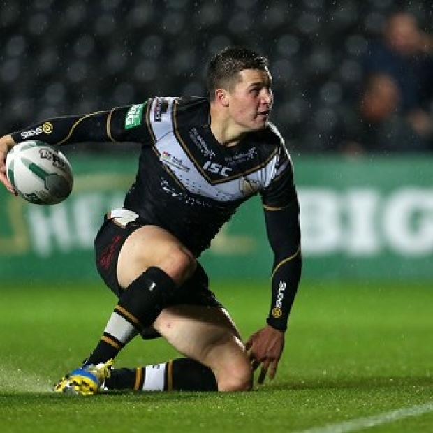 Blackpool Citizen: Jamie Shaul was one of Hull's try scorers