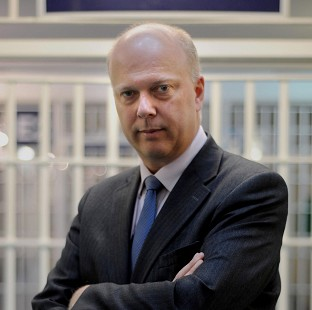 Justice Secretary Chris Grayling said health and safety changes are aimed at cutting red tape