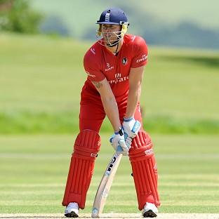 Andrew Flintoff returned for Lancashire's 2nd XI on Thursday