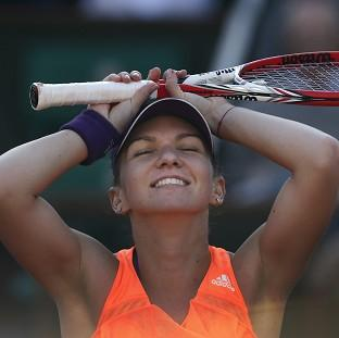 Blackpool Citizen: Simona Halep is through to the French Open final (AP)