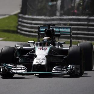Lewis Hamilton is eyeing a fourth victory in Canada (AP)