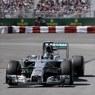 Nico Rosberg is on pole in Canada (AP)