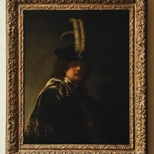 A self-portrait of Rembrandt discovered at Buckland Abbey, De