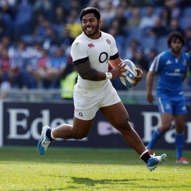 Blackpool Citizen: Manu Tuilagi will play on the wing in the second Test against New Zealand