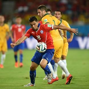 Gonzalo Jara and Chile got their World Cup campaign off to a winning start