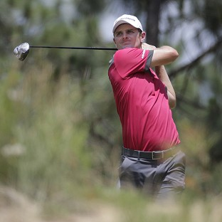 Justin Rose carded a third-round 70 (AP)