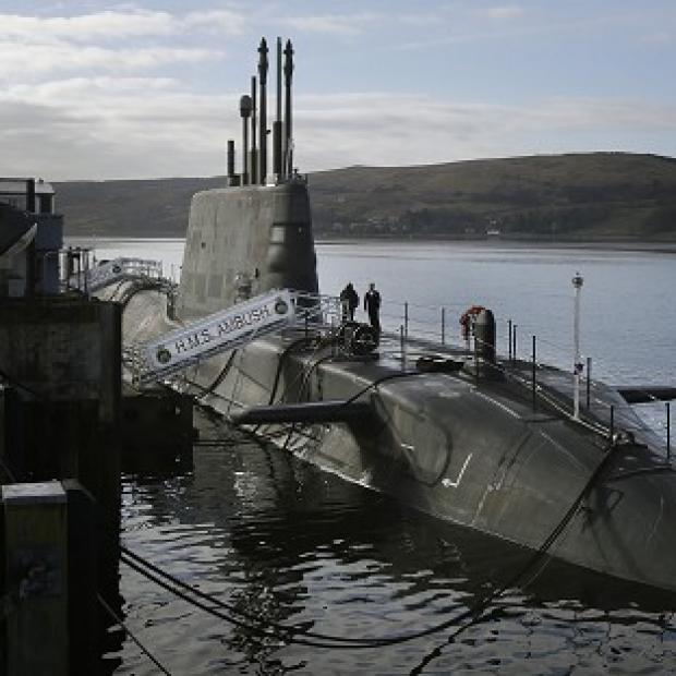 Blackpool Citizen: A survey found 41 per cent of Scots would be happy with Britain's nuclear submarines remaining on the Clyde even if the country becomes independent