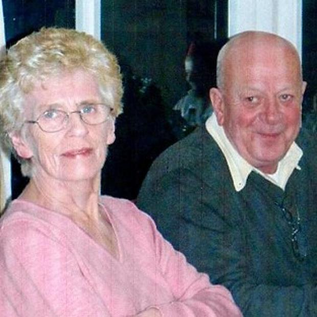 Blackpool Citizen: David Tracey with his wife Janet, who he says was subjected to an unlawful do not resuscitate order