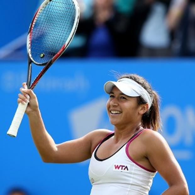 Blackpool Citizen: Heather Watson is through to the Aegon International quarter-finals in Eastbourne