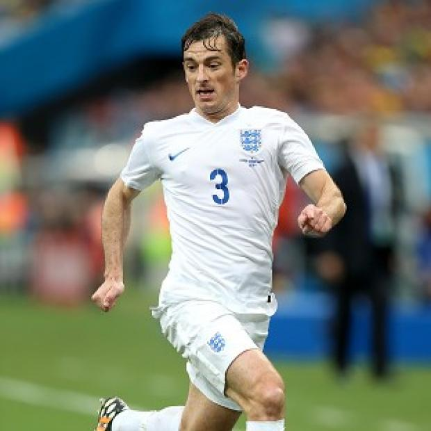 Blackpool Citizen: Leighton Baines has spoken out in support of England's back four
