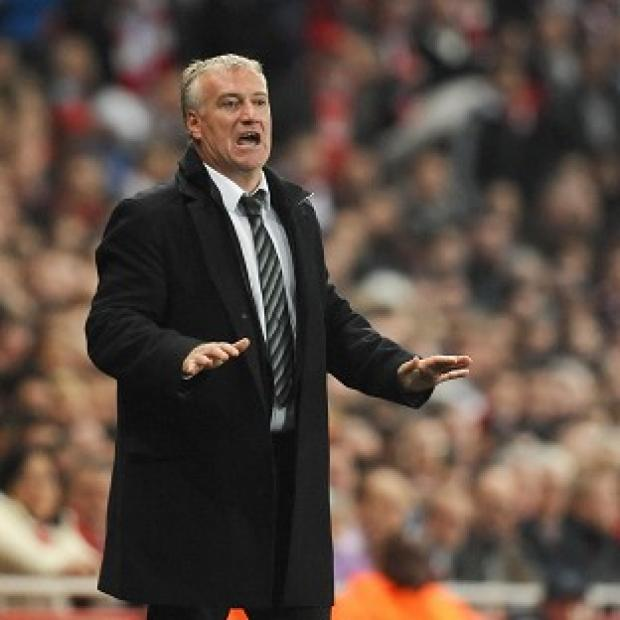 Blackpool Citizen: France coach Didier Deschamps is refusing to get carried away despite seeing his side ease to victory over Switzerland