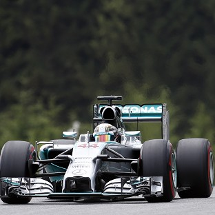 Lewis Hamilton will have his work cut out in Austria (AP)