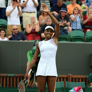 Venus Williams made a winning start at Wimbledon