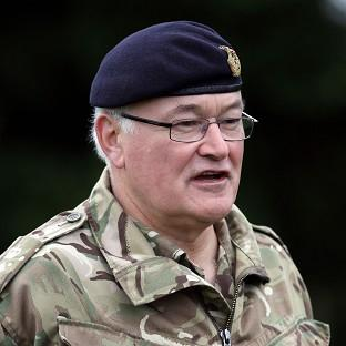 Chief of the General Staff Sir Peter Wall warned any further cuts to spending would jeopardise the Army 2020 programme