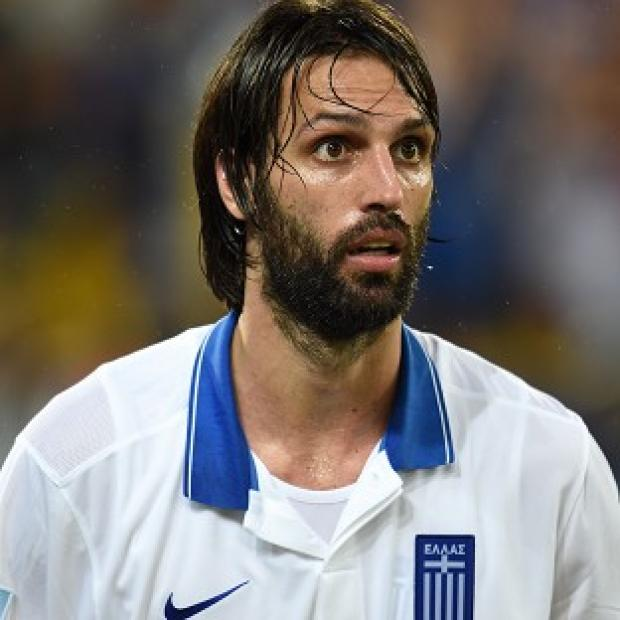Blackpool Citizen: Georgios Samaras scored the decisive penalty for Greece