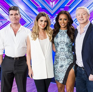 Simon Cowell, Cheryl Fernandez-Versini, Mel B and Louis Walsh are the judges in the new series of The X Factor