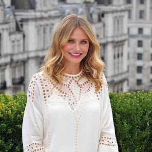 Cameron Diaz has spoken out against hackers who leaked naked photos of cele