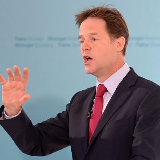 Boy, 9, tests Clegg on school meals